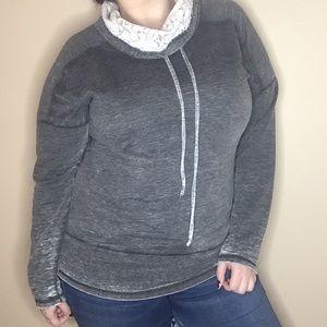 Chance Or Fate Sweatshirt Size Large Dark Gray
